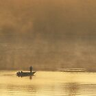 Lone Fisherman 2 by Steven Huszar