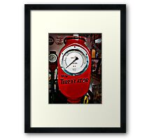 Eco Tireflator Framed Print