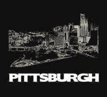Pittsburgh Skyline by edwardengland