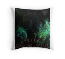 Dulce et Decorum Est Throw Pillow