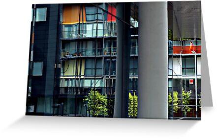 matrix reflected, glasgow by Alan Stuart