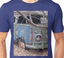 Weathered Old Hippie Bus Unisex T-Shirt