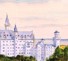 Neuschwanstein Castle Bavaria Germany Sticker