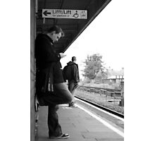 Train Waiter Photographic Print