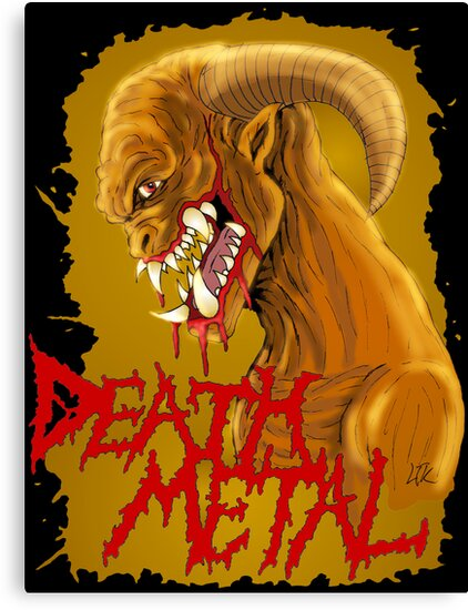 Death Metal Monster by MetalheadMerch
