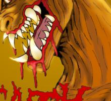 Death Metal Monster Sticker