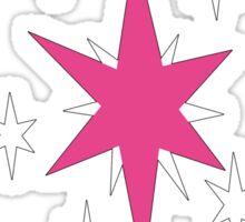 My little Pony - Twilight Sparkle Cutie Mark V3 Sticker