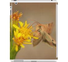 The hummingbird hawk moth iPad Case/Skin