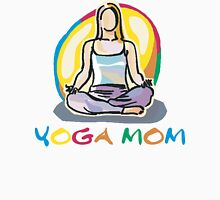 Yoga Mom To Be Womens Fitted T-Shirt