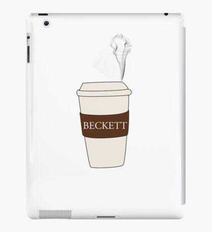Beckett coffee iPad Case/Skin
