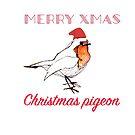 Christmas Pigeon  by cjmillar9