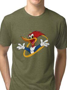 woody woodpecker Tri-blend T-Shirt