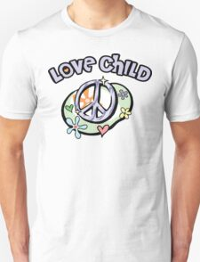 """Mom To Be """"Love Child"""" Unisex T-Shirt"""