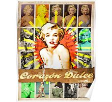 Icons: Miss Dulce Corazón Poster