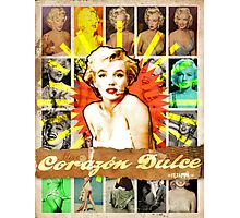 Icons: Miss Dulce Corazón Photographic Print