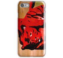 Tiger Stalker iPhone Case/Skin