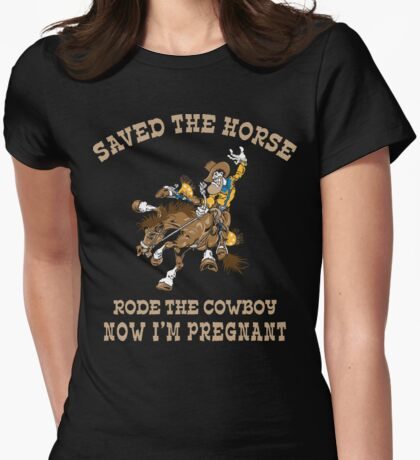 Funny Cowgirl Mom To Be T-Shirt