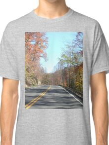 Country Road in the Appalachian Mountains Classic T-Shirt