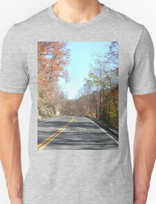 Country Road in the Appalachian Mountains T-Shirt