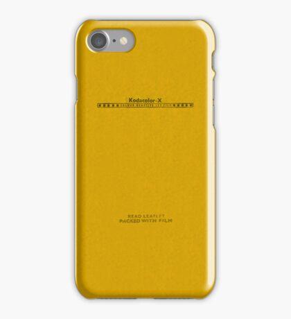 Kodacolor-X iPhone Case/Skin