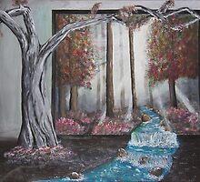 Silent Serenity - 2 by Dana Al-Aghbar