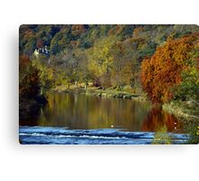 Tranquil Tweed Canvas Print