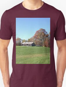 Barn on a Gently Rolling Hill T-Shirt