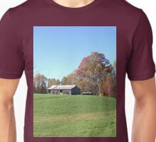 Barn on a Gently Rolling Hill Unisex T-Shirt