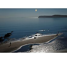 Against The Light – Compton Bay  Photographic Print