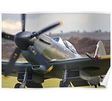 Supermarine Spitfire Mk XIV Poster