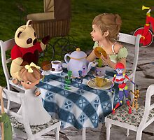The Toy Tea Party by Liam Liberty