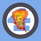 Chibi Human Torch by artwaste