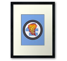Chibi Human Torch Framed Print
