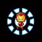 Chibi Iron Man by artwaste