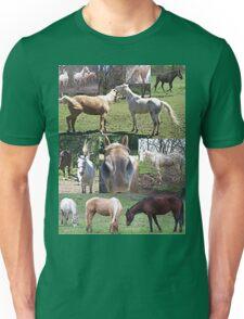 Popular & Unique Horse Collage  Unisex T-Shirt