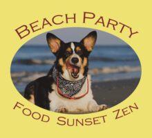Beach Party by William C. Gladish