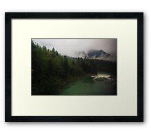 Washington State Mountains Framed Print