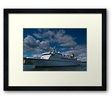 Spirit Of Adventure, Dartmouth, England Framed Print