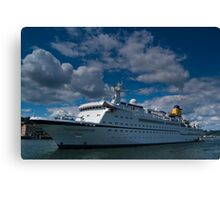 Spirit Of Adventure, Dartmouth, England Canvas Print