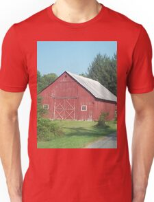 Nice Rustic Red Barn  Unisex T-Shirt