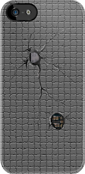 Tile & Bullet Holes by TinaGraphics