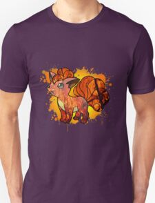 Vulpix - With Background T-Shirt