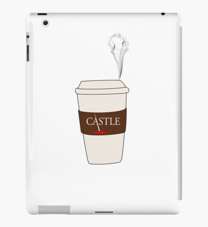Castle coffee iPad Case/Skin