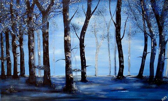 Blue Echo by Rachel Ireland-Meyers