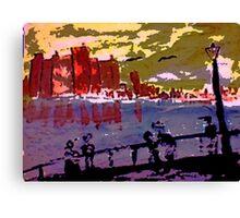 London, watercolor Canvas Print