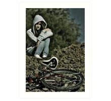 Bike Portrait Art Print