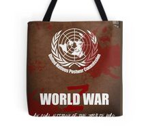 World War Z Cover Tote Bag