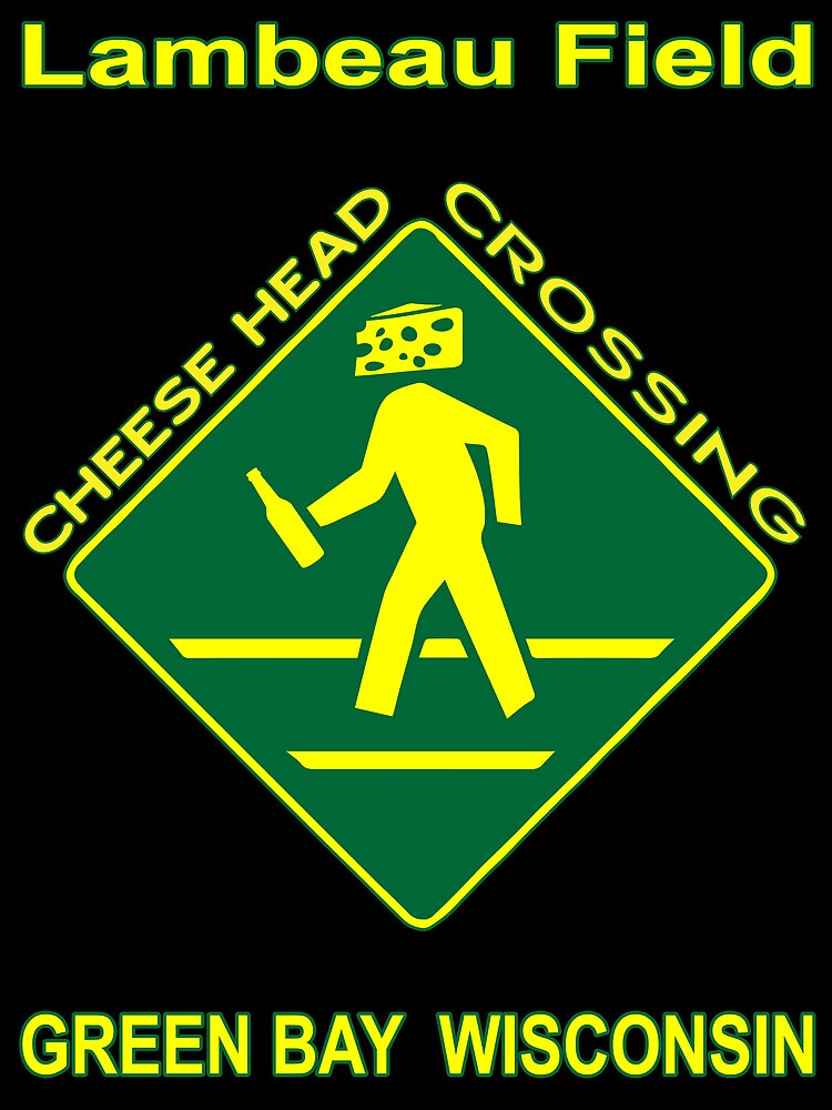 Cheese Head Crossing with Beer by KidMonkey