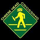 Cheese Head Crossing with Beer by KidMonkey