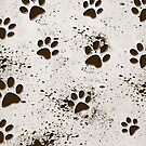 Muddy Paws (iPhone) by Maria Dryfhout